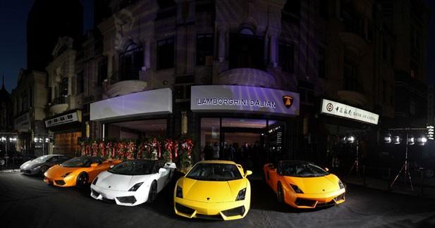 Lamborghini ne craint pas la crise