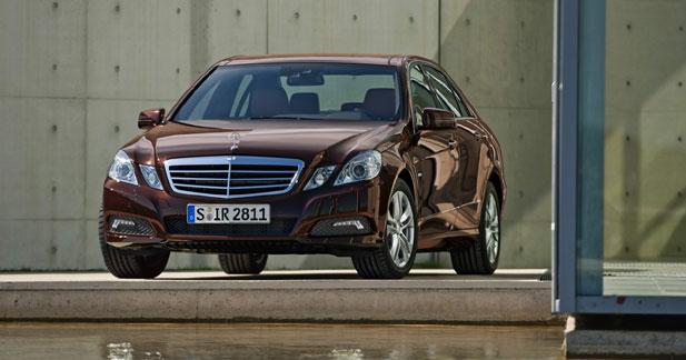 Mercedes Classe E : sérieuse remise à niveau