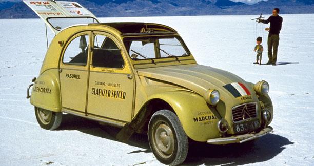 2cv Citroën, 60 ans d'années folles