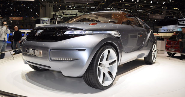 Dacia Duster Concept : Dacia de grands chemins