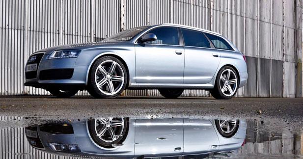 Essai Audi RS6 Avant : Anneaux de vitesse