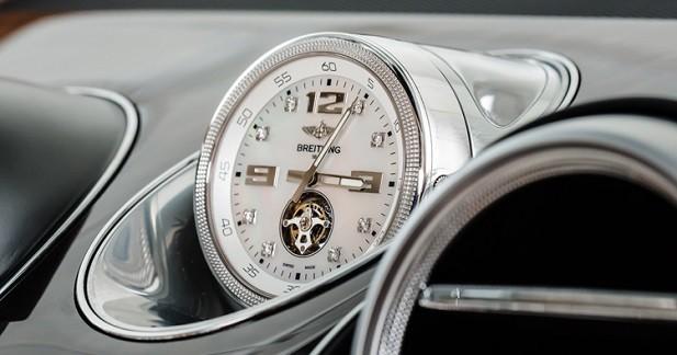 Une montre à 200 000 euros dans le Bentley Bentayga