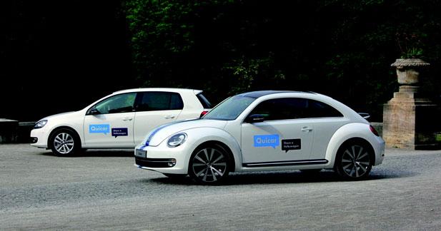 Volkswagen se lance dans l'auto partage à Hanovre