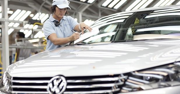 Déjà plus de 9 millions de véhicules livrés par Volkswagen en 2014