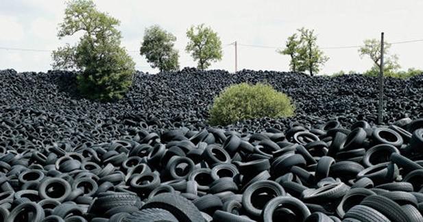 Les constructeurs vont participer au recyclage des pneus