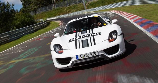 La Porsche 918 Spyder affole les chronos sur le Nürburgring
