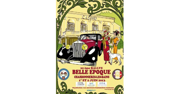 Le Rallye Belle Epoque revient à Lyon