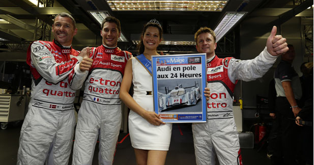 Audi devant Toyota aux qualifications des 24 Heures du Mans