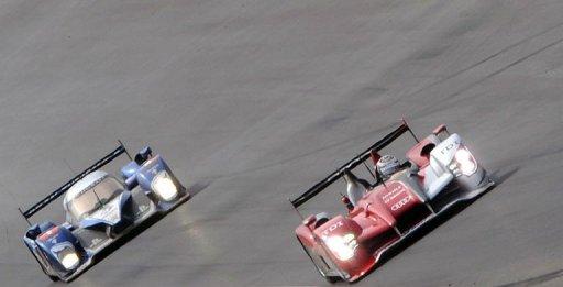 24 Heures du Mans: deux Audi contre une seule Peugeot à moins de trois heures de la fin de course