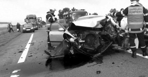 Baisse de 8,8 % des morts sur les routes en janvier