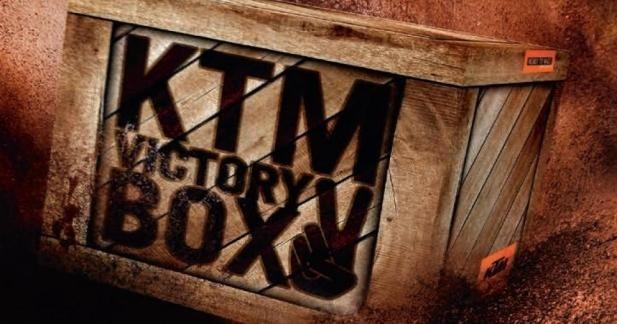 KTM EXC Victory Box : 800 € d'accessoires offerts