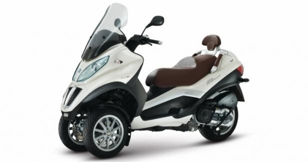 Piaggio : promo MP3 500 LT et formation 7 h