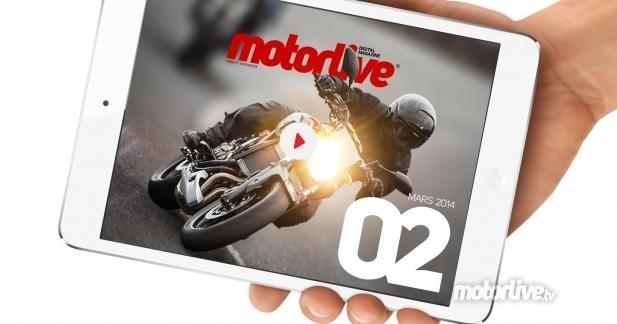 Motorlive Digital Mag : le n° 2 est dispo sur l'AppStore