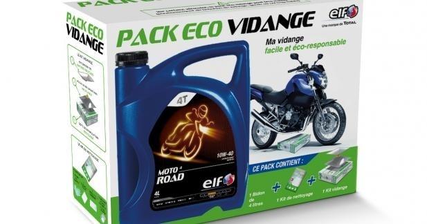 Elf Moto lance le pack Eco Vidange
