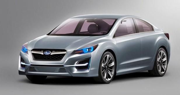 Impreza Concept : le style Subaru évolue