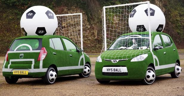 Hyundai i10 droit au but pour la coupe du monde - Cars la coupe internationale de martin ...