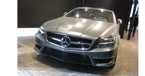 Un nouveau V8 pour la CLS63 AMG à Detroit