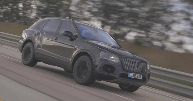 300 km/h en Bentley Bentayga, c'est possible!