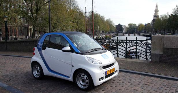 La Smart électrique prépare son arrivée à Amsterdam