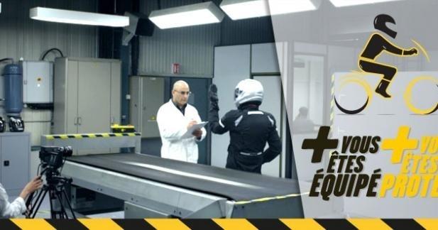 Campagne vidéo Sécurité routière : motards, scootéristes, équipez-vous !