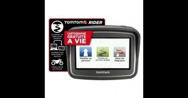 GPS Tom Tom Rider : opération satisfait ou remboursé