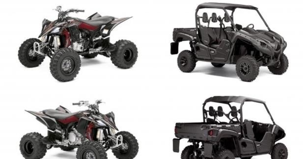 Séries limitées Black Max chez Yamaha