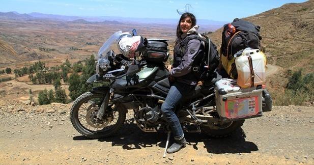 Mélusine Mallender - les Grands Lacs d'Afrique à moto, première vidéo