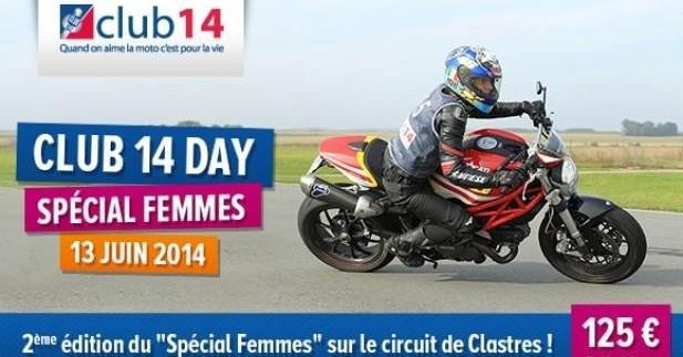 Club 14 Day, journée piste ''Spécial Femmes''