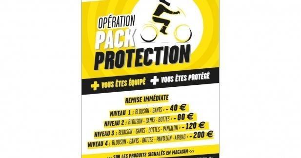 Opération Pack Protection : votre équipement moins cher grâce à la Sécurité routière !