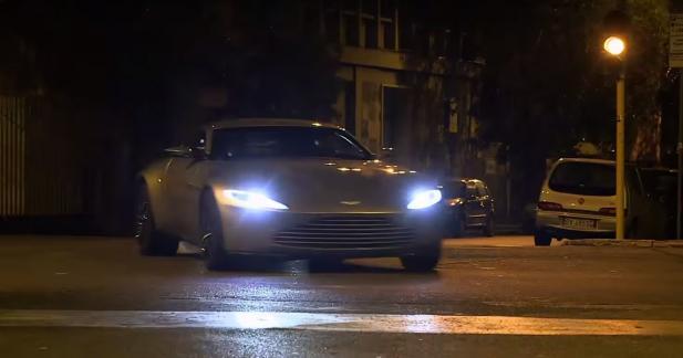 Sept Aston Martin DB10 détruites lors du tournage de Spectre