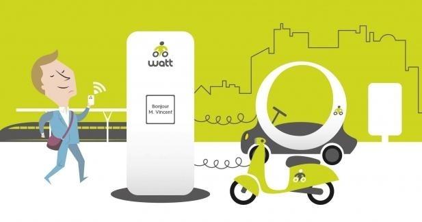 Wattmobile : des scooters électriques à louer dans les gares