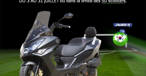 Daelim S3 125 2014 : promo lancement à 2 999 €
