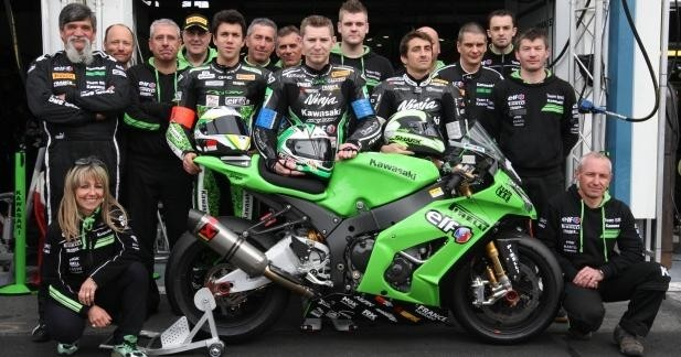Kawasaki sera engagé en 2015 sur tout le championnat du monde EWC