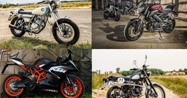 La moto 125 reprend des couleurs avec KTM, Yamaha et Mash !