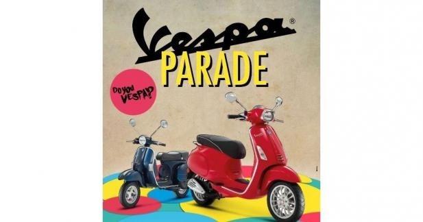 Vespa Parade 2014 : rendez-vous le 20 septembre