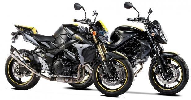 "Suzuki : séries spéciales GSR 750 et Gladius ""Boss"""