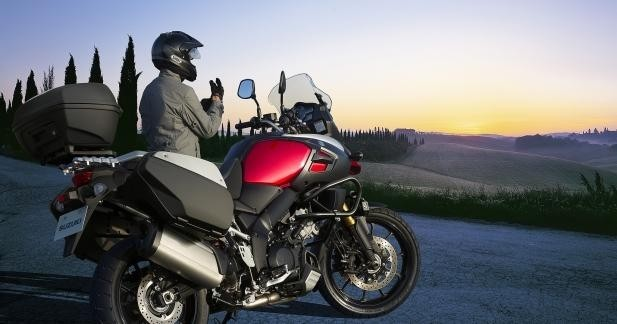 Promo Suzuki : Pack équipement pour l'hiver sur les V-Strom