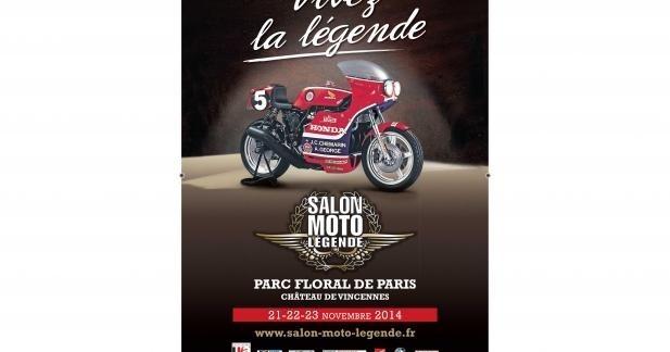 Salon Moto Légende 2014 : du 21 au 23 novembre au Parc floral