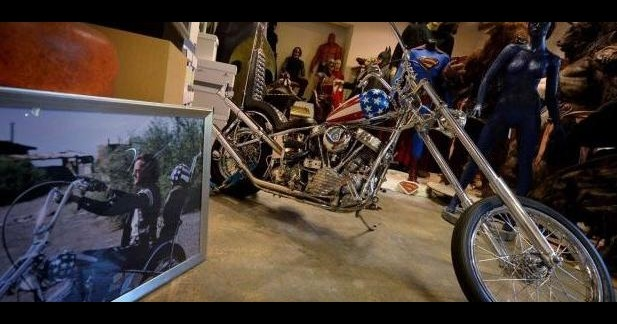 La Harley d'« Easy Rider » vendue 1,350 000 dollars aux enchères !