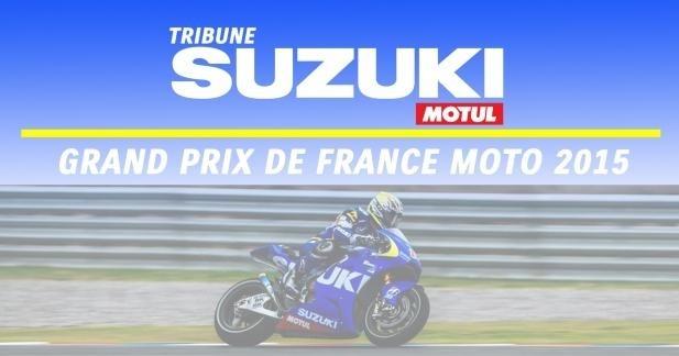 Suzuki de retour en MotoGP vous invite au GP de France 2015