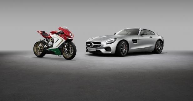 Ça roule pour MV Agusta et Mercedes-AMG !