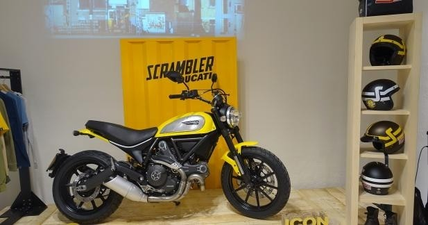 Scrambler, les équipements : Ducati équipe déjà son pilote !
