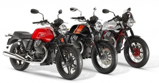 Moto Guzzi : les V7 2014 en promo - 1000 €