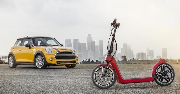 Mini se lance dans la mobilité de proximité : Citysurfer Concept !