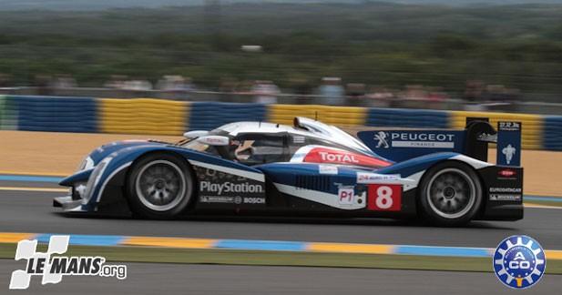 Le Mans : une Peugeot 908 en tête aux premiers essais qualificatifs