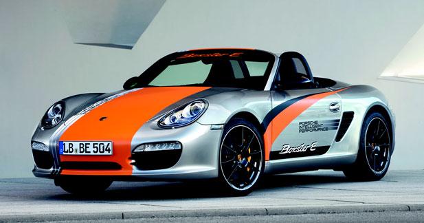 Porsche Boxster E : sportive décomplexée