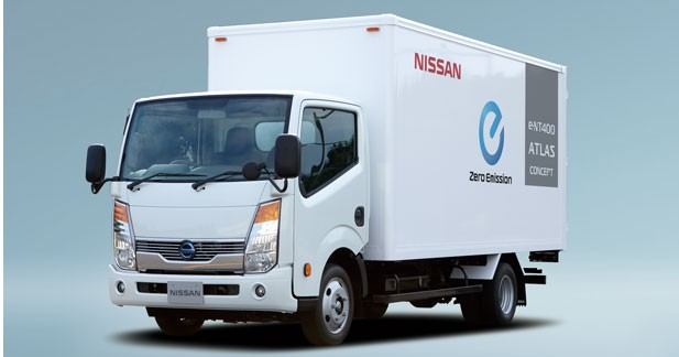 Nissan passe au camion électrique