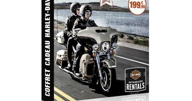 Offrez une balade en Harley pour Noël !
