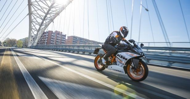 KTM 125 et 390 : offre financement et assurance