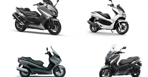 Marché 2014 : top 15 des ventes scooters 125 et maxiscooters